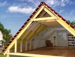 Pitched roof insulation sheme