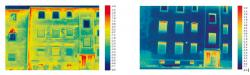 Thermal vision both facades